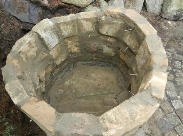 каменные стены тандыра