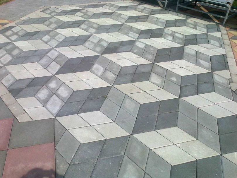 геометрия брусчатки