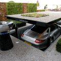 Удобная площадка под автомобиль на даче своими руками