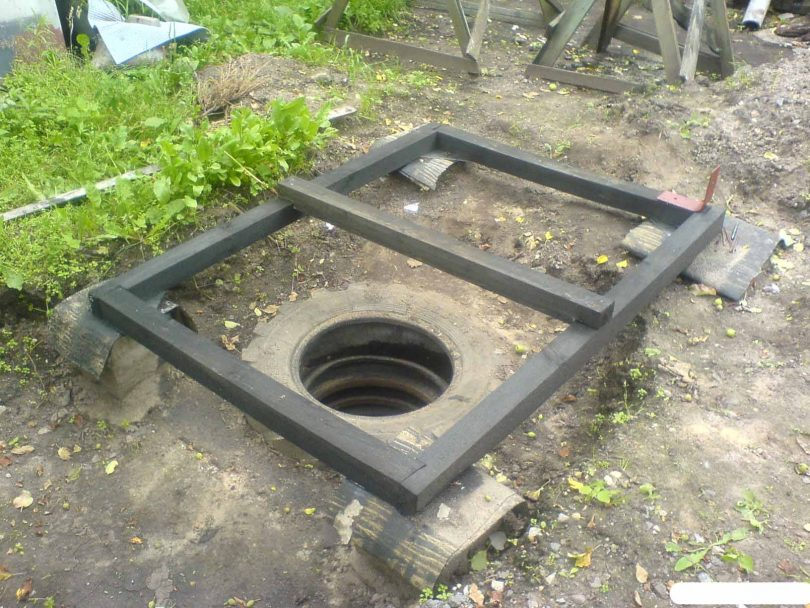 Сливная яма