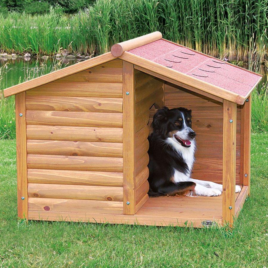 Как сделать будку для собаки своими руками