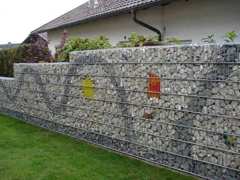 Габион стена