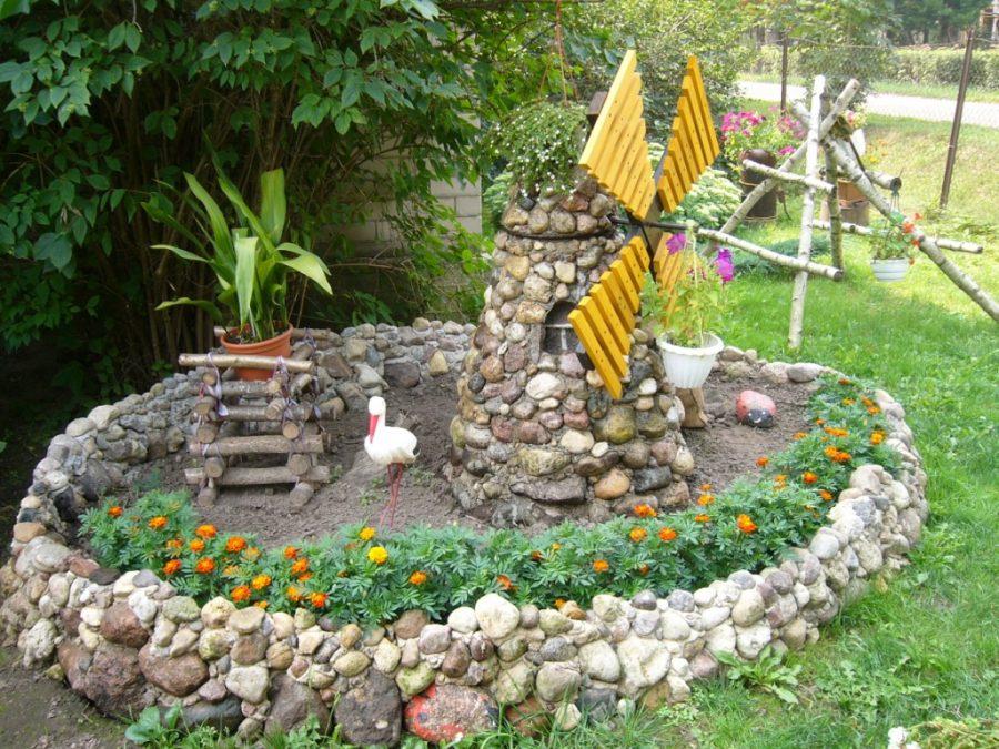 Красивый двор частного дома своими руками: все про обустройство двора