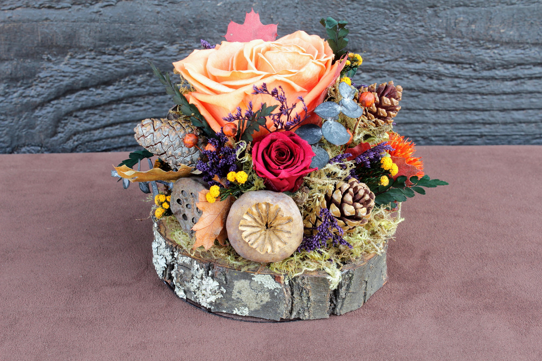 handmade-wedding-finds-for-fall-weddings-rustic-centerpiece.original Топиарий осенний: мастер класс фото, своими руками поделка, дерево дары пошагово, золотая мк, букет из природных материалов на тему