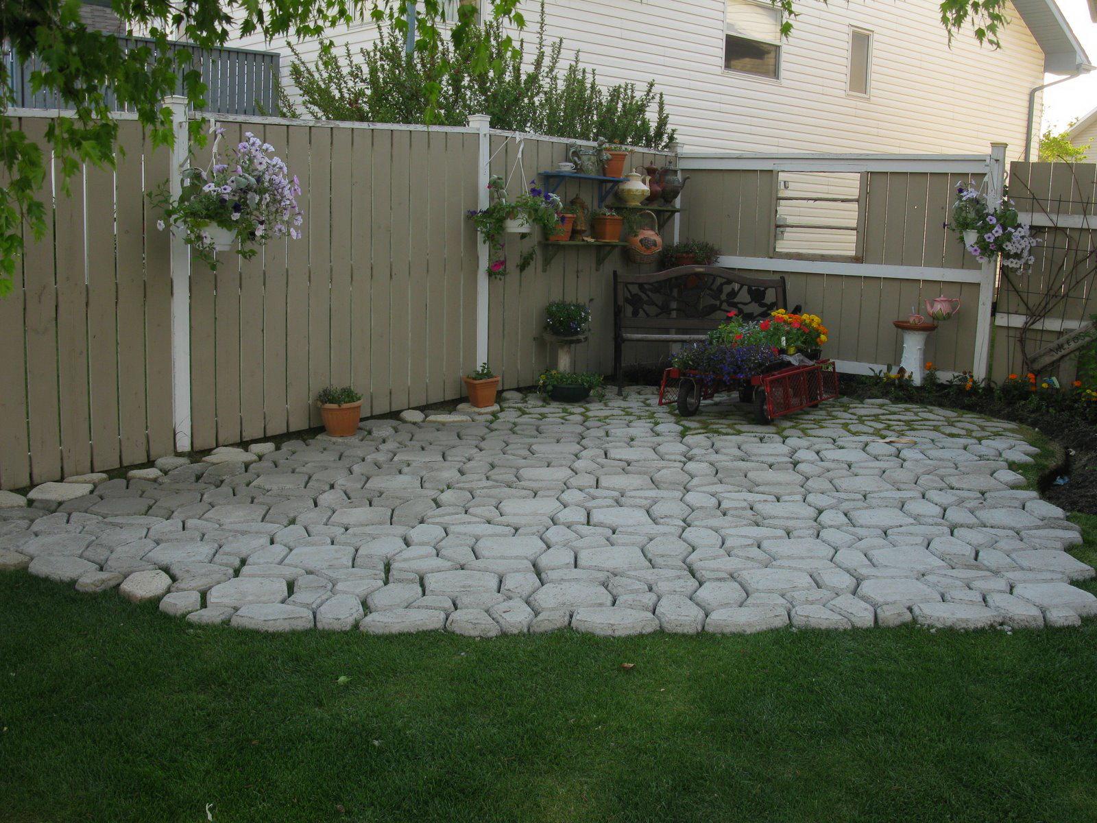 Сделать во дворе дома своими руками двор фото фото 430