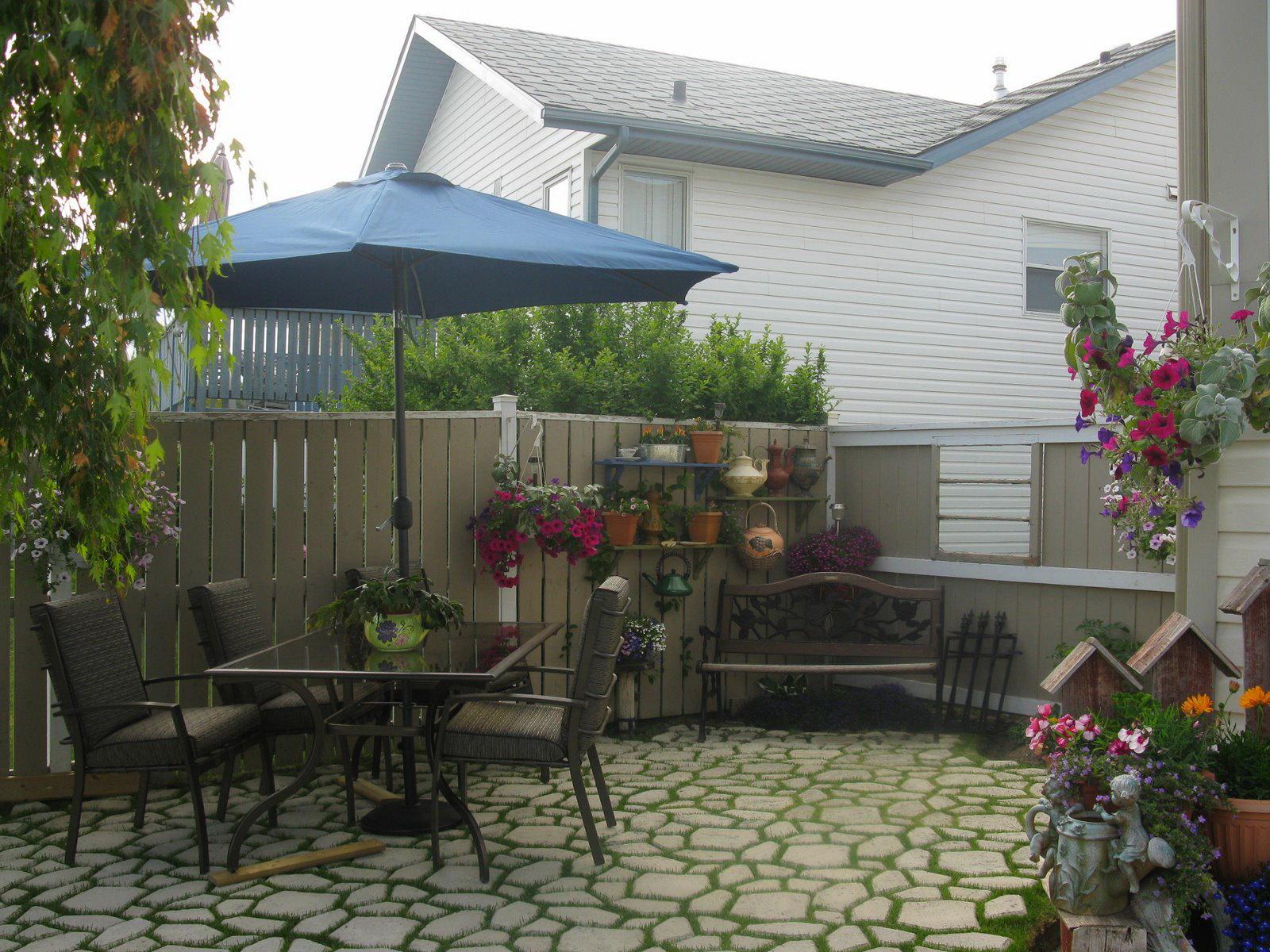 Как сделать двор красивым фото 772