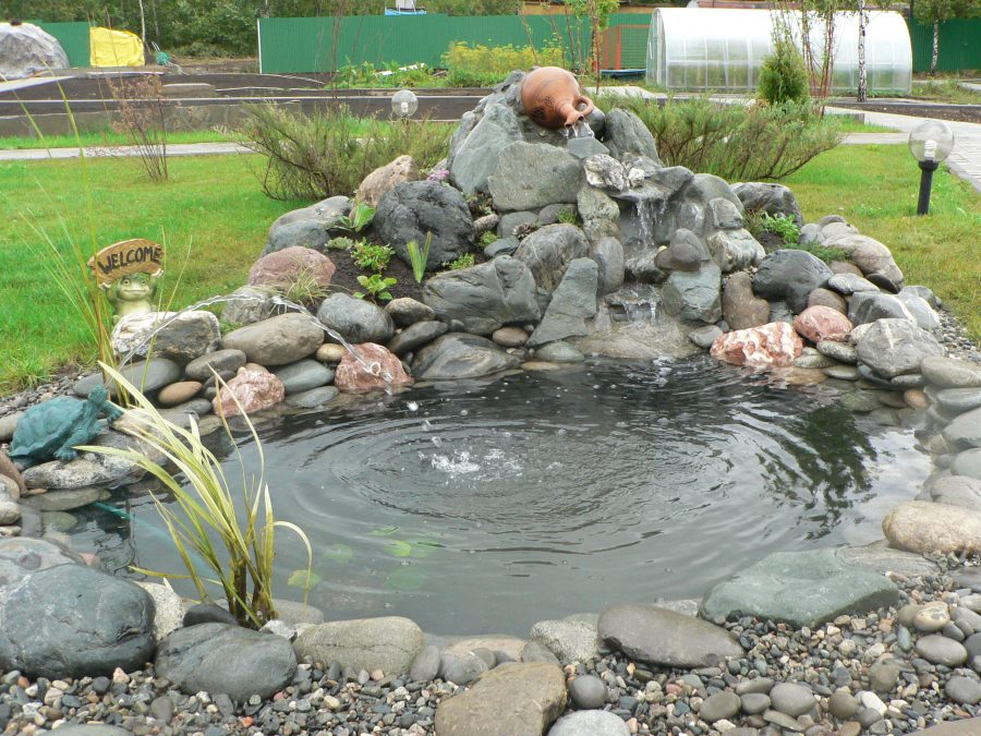 Дренажный пруд на даче своими руками фото пошагово