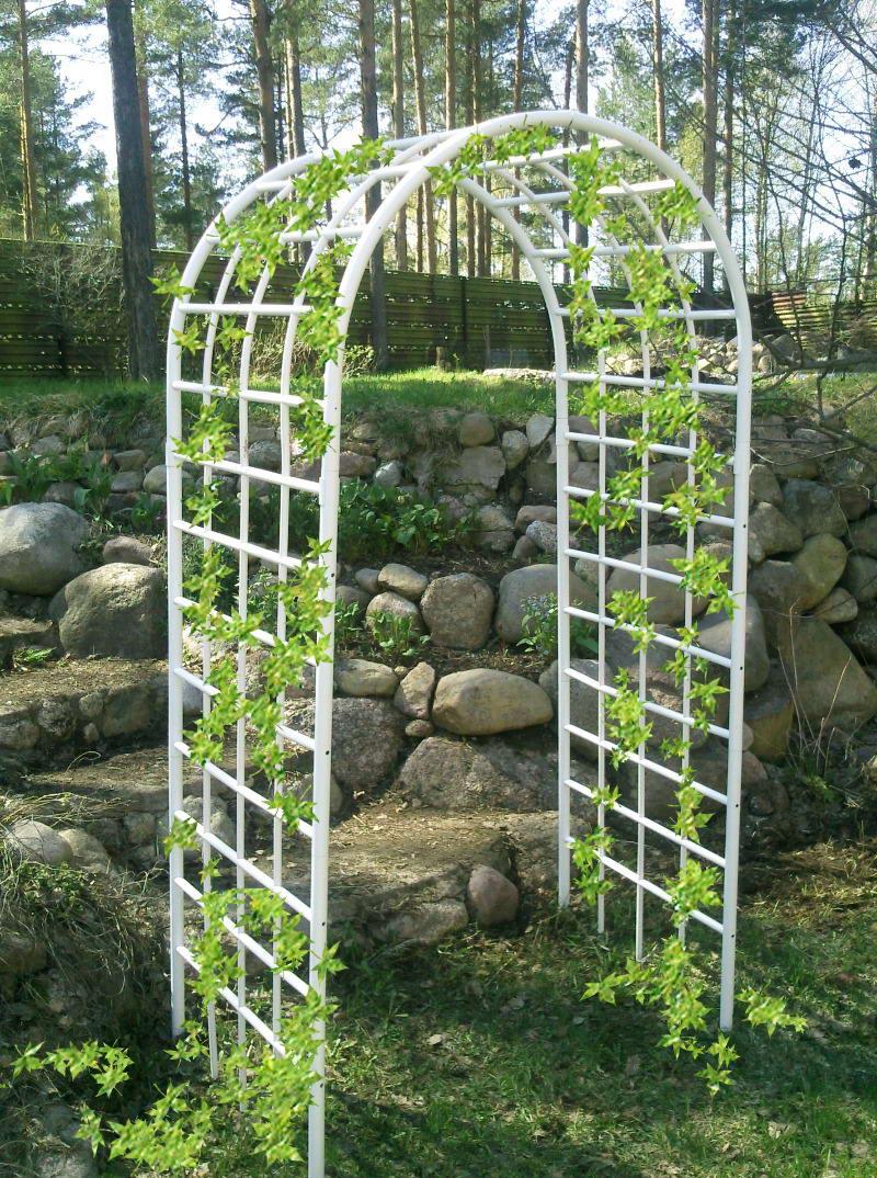 арка для цветов