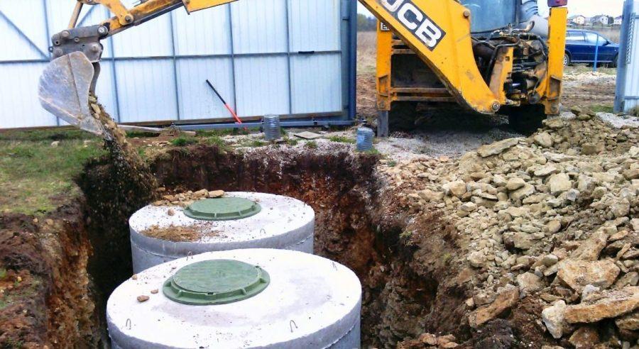 Надёжная выгребная яма из бетонных колец – технология постройки