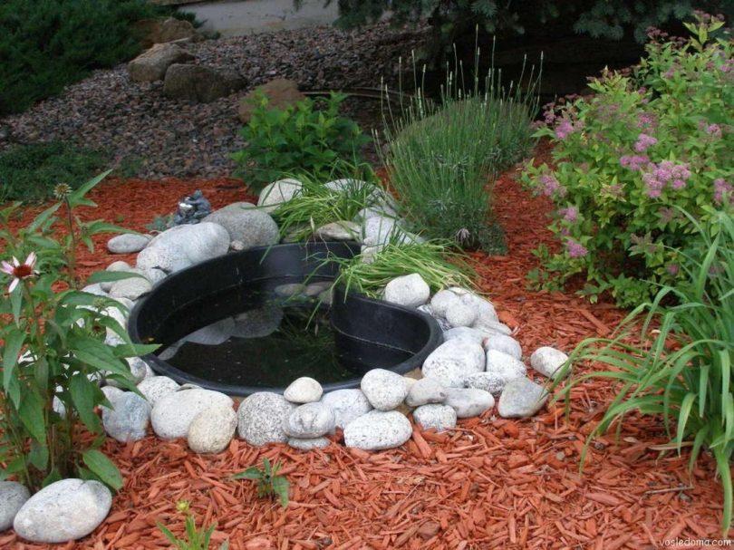 емкости для создания декоративного пруда