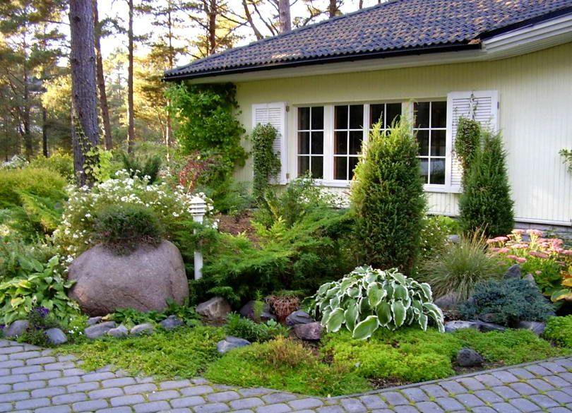 фото дизайна перед домом