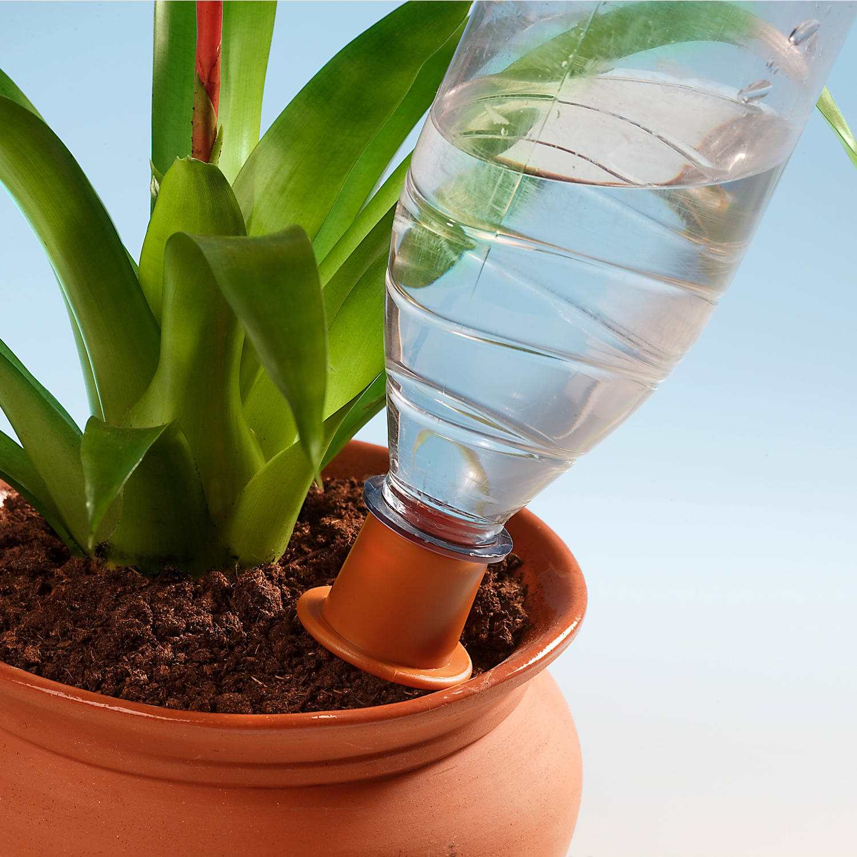 Как из пластиковой бутылки сделать капельный полив
