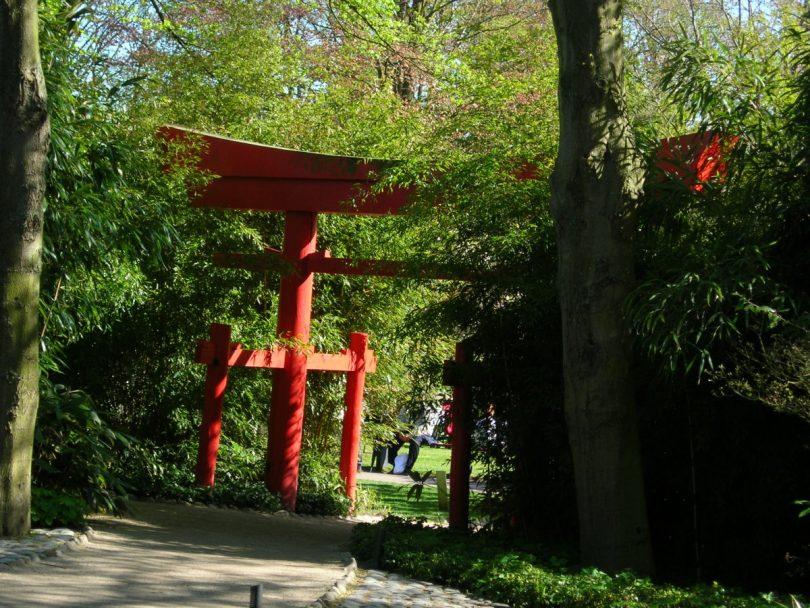 японские ворота тории своими руками