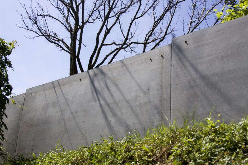 шиферный забор