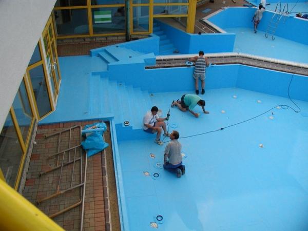 гидроизоляция бассейнов