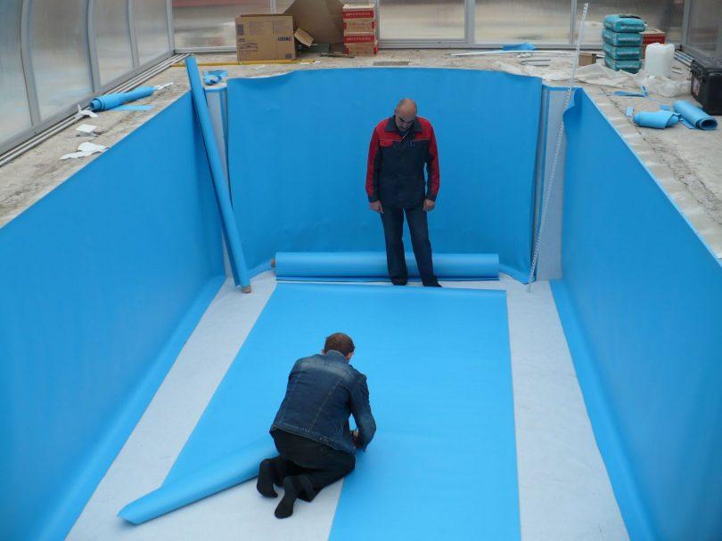 гидроизоляция для бассейнов материалы