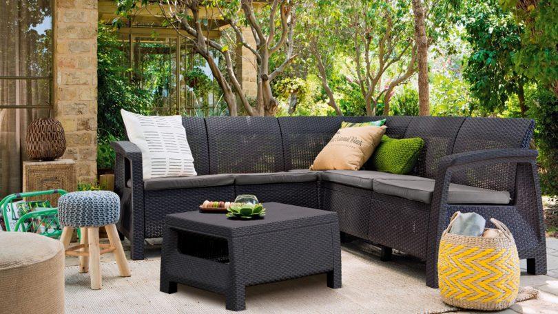 мебель садовая из пластика