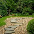 Садовые дорожки своими руками: чертежи и варианты дизайна