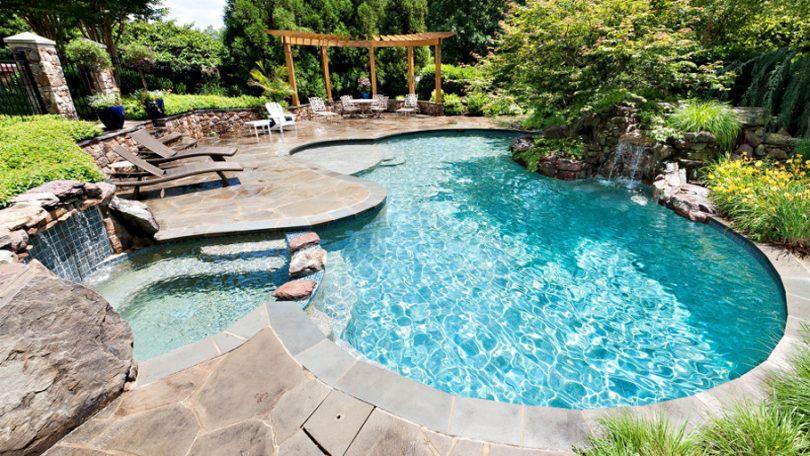 бассейн для дачи декоративный