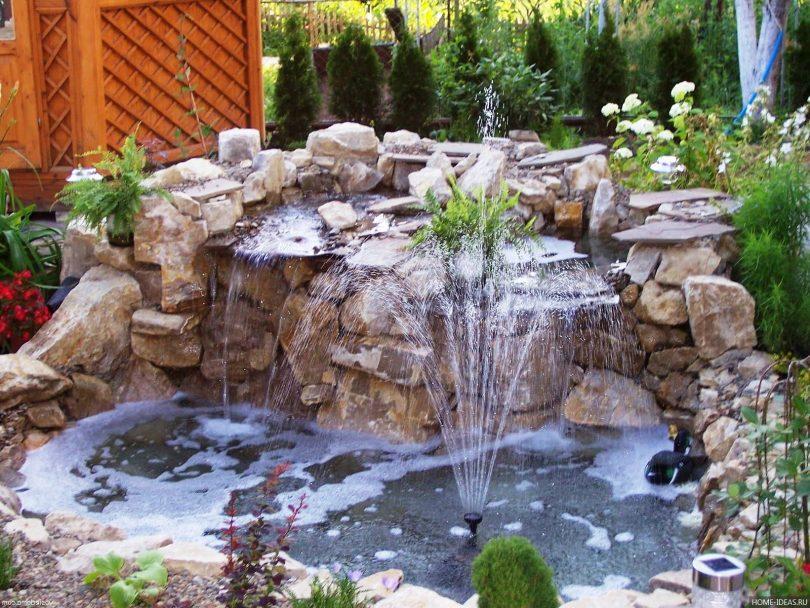 фонтан своими руками как сделать