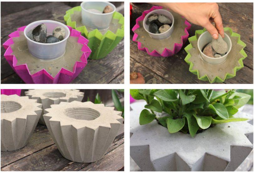бетонные цветочницы вазоны из бетона