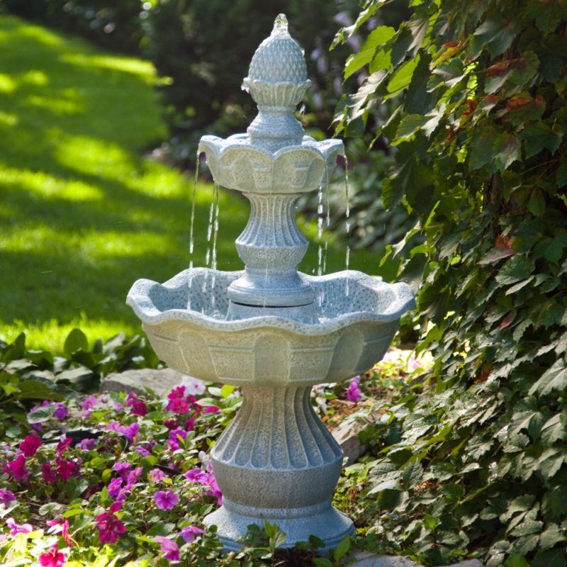 фонтан своими руками в домашних условиях