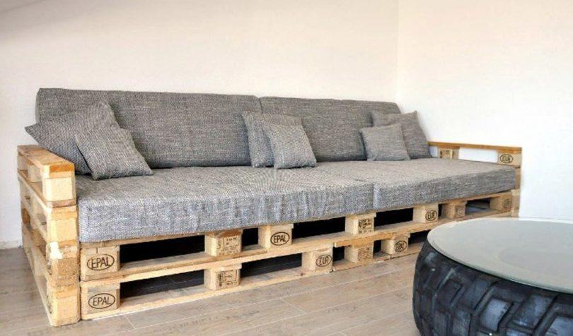 диван из поддонов фото