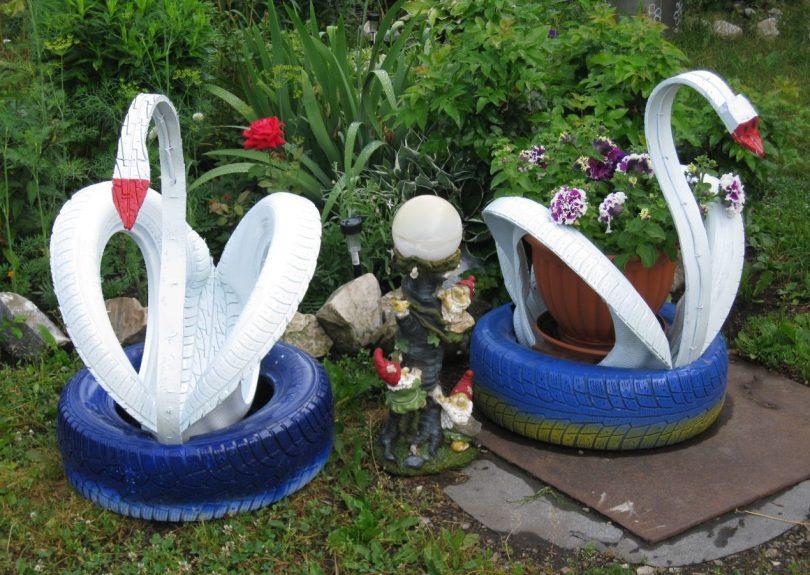 садовые фигуры своими руками мастер класс