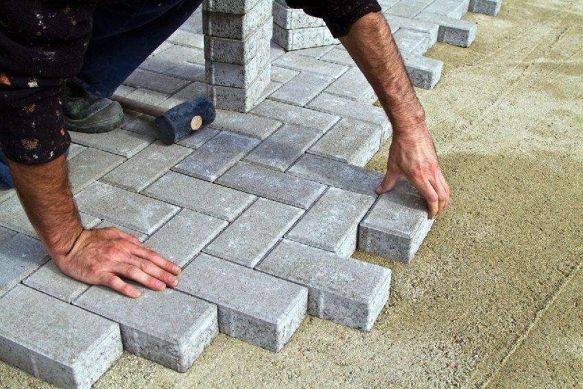 дорожка на даче своими руками тротуарная плитка