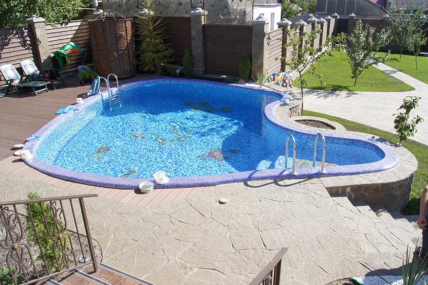 бассейн из бетона своими руками