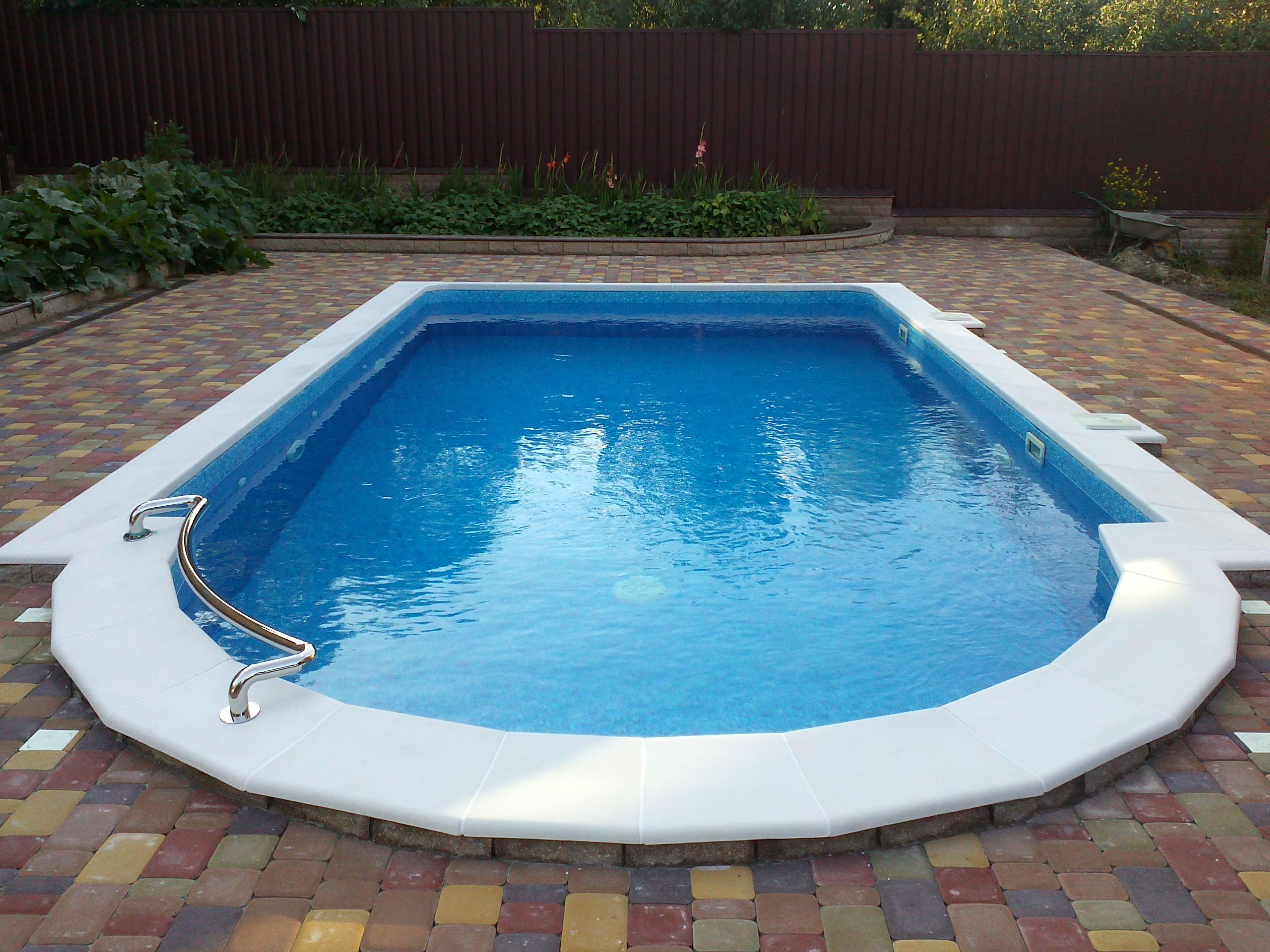 строительство бетонных бассейнов