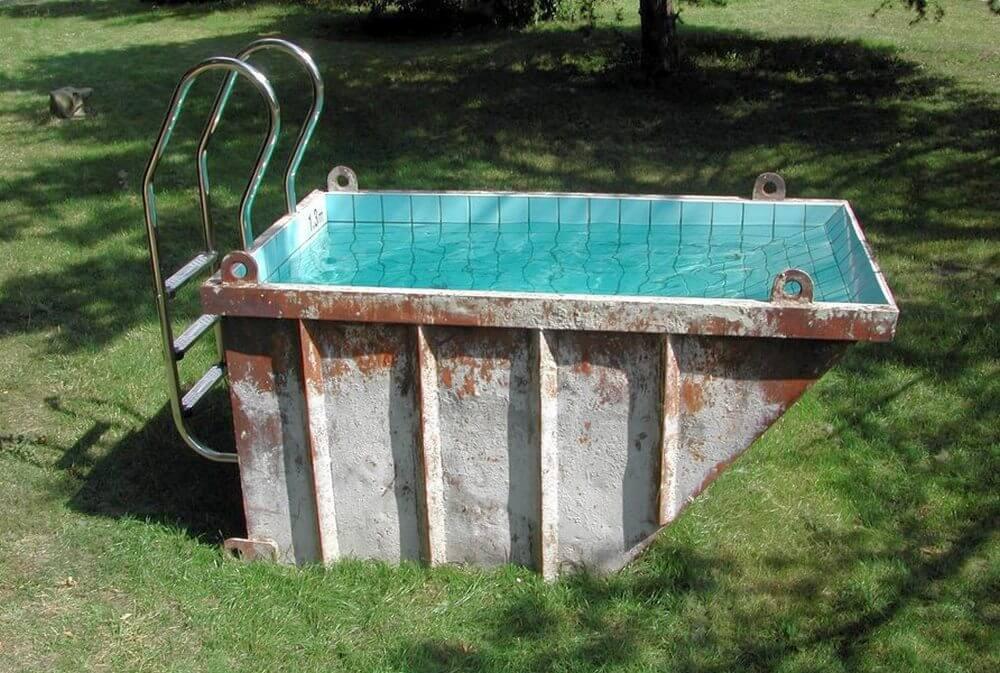бассейн из металла