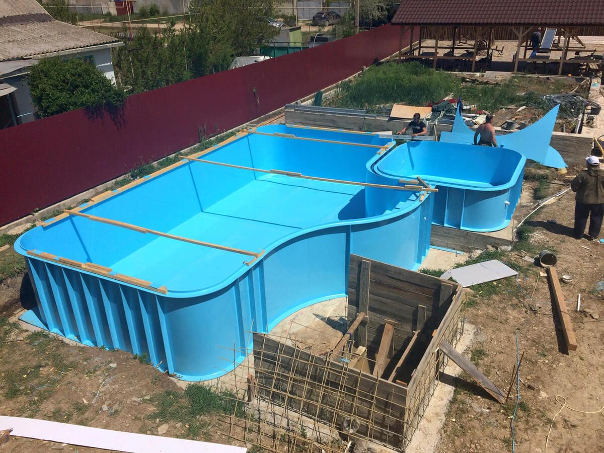 Полипропилен при изготовлении бассейна