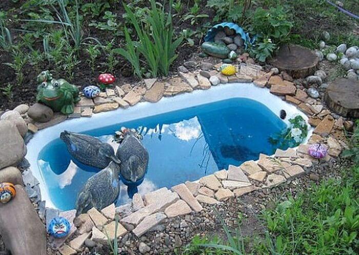 бассейн из ванной