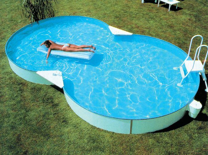 Металлический бассейн – строим сами! Пошаговое руководство