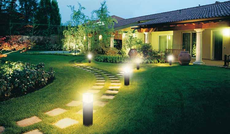 7 советов по выбору освещения дачного участка
