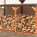 Поленница – лучшее место для дров. Как построить ее самостоятельно?