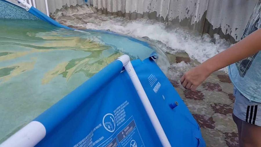 Как и куда слить воду с бассейна. Дальнейший уход