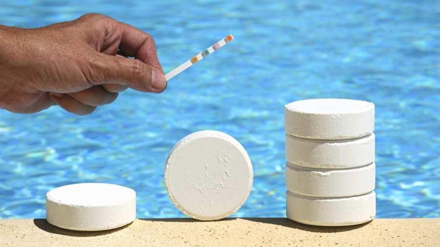 Таблетки для очистки бассейна