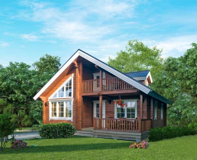 Дома, построенные по технологии клееного бруса: плюсы и минусы