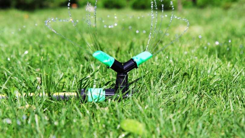 Автоматизируем полив газона: установка и подключение дождевателей