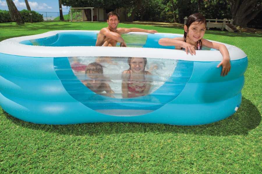 Надувные бассейны: преимущества и конструктивные особенности