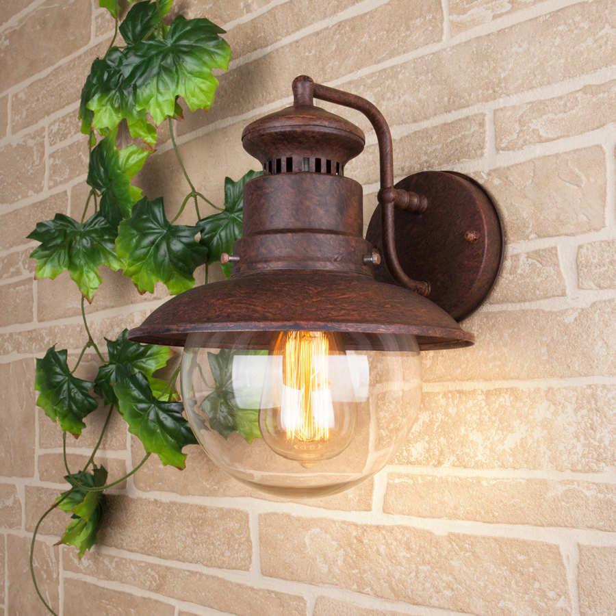 Уличные светильники потолочные: где применяются, где купить?