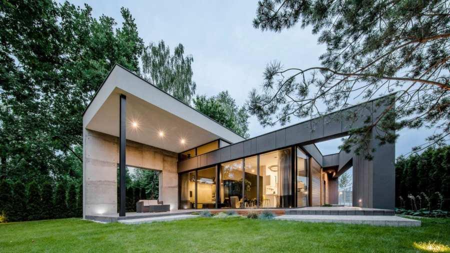 ТОП10: архитектурная мода на частные дома 2020 года