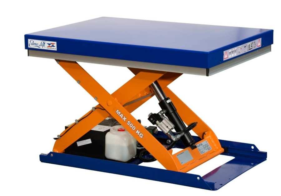 Электрические подъемные ножничные столы
