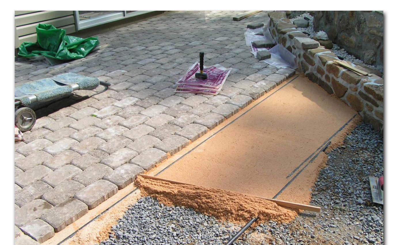 Как правильно укладывать тротуарную плитку