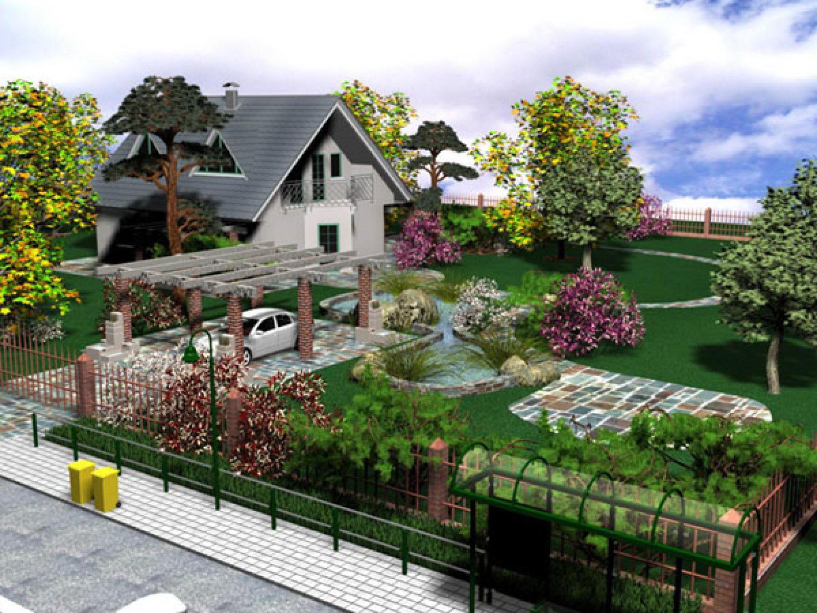 Ландшафтный дизайн дачного участка своими руками онлайн