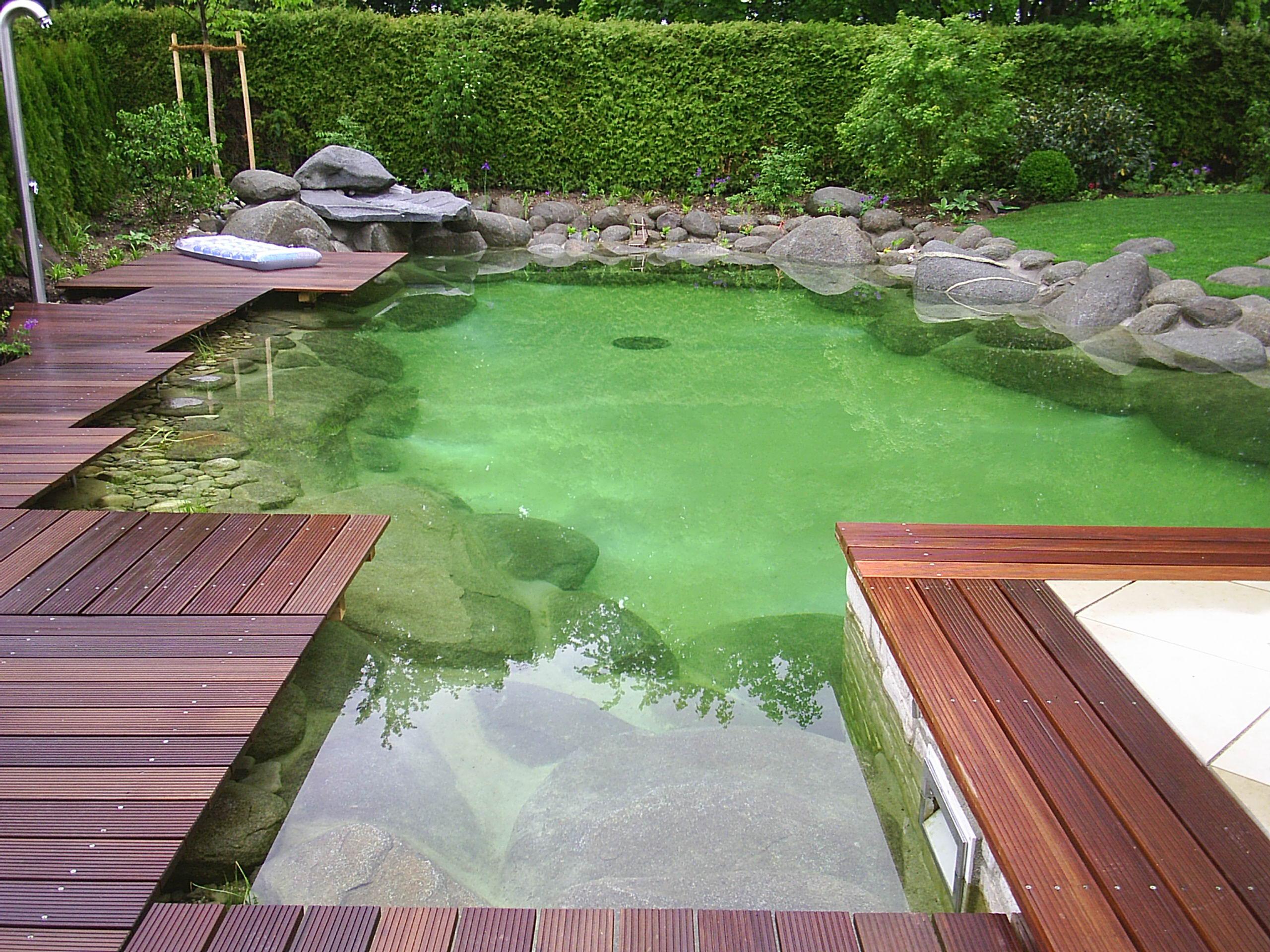 Как сделать искусственный озеро