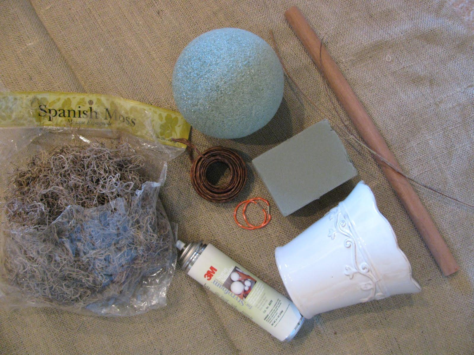 Как сделать из газеты шар для топиария