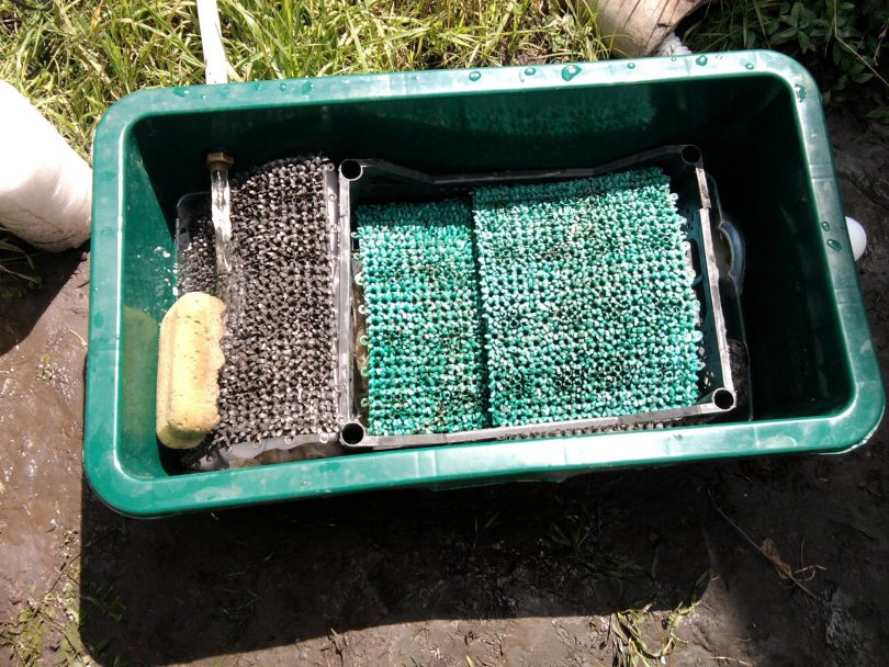 Фильтр для садового пруда своими руками 86